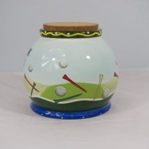 GANZ Accents - Bella Casa by Ganz Green Fees Golf Money Jar